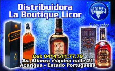Distribuidora La Boutique Licor