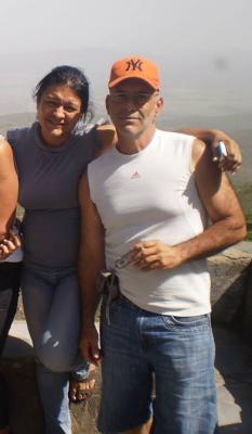 Gustavo Hidalgo y Maribel Contreras