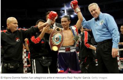 Raúl García fue arrasado por Donnie Nietes en Filipinas