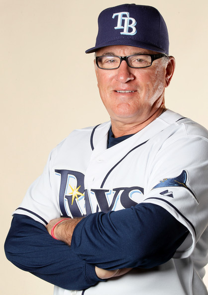 Joe Maddon Joe Maddon #70 of the Tampa Bay Rays poses for a portrait during the Tampa Bay Rays Photo Day on February 22, 2011 at the Charlotte Sports Complex in Port Charlotte, Florida.