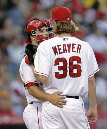 Jered Weaver Anaheim Angels Baseball Mlb Pitcher Pitchers