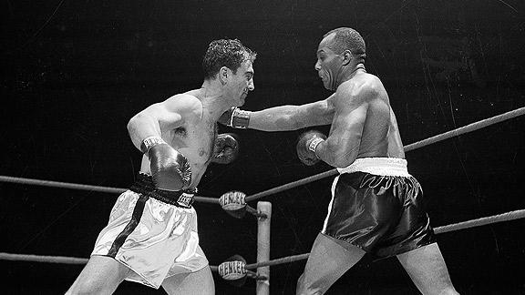 Rocky Marciano y Joe Walcott