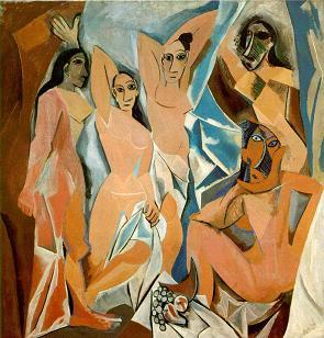 Pintura arte moderno