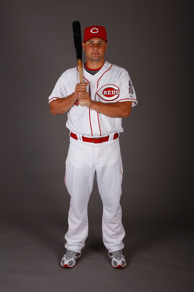 Ramon Hernandez Ramon Hernandez #55 of the Cincinnati Reds poses for a photo during Spring Training Photo day on February 18, 2009 at the Cincinnati Reds training facility in Sarasota, Florida.  (Photo by Chris Graythen/Getty Images) *** Local Caption *** Ramon Hernandez