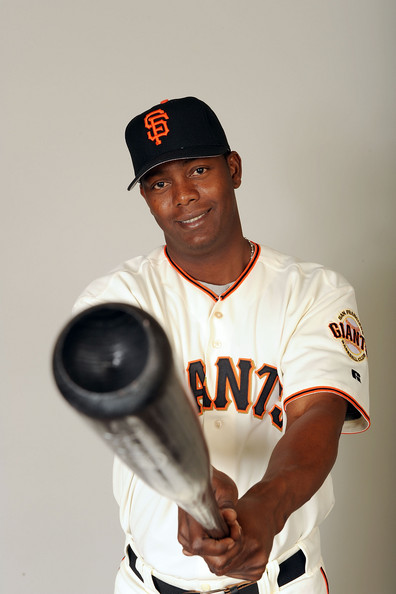 Edgar Renteria Edgar Renteria #16 of the San Francisco Giants poses during photo day at Scottsdale Stadium on February 23, 2009 in Scottsdale, Arizona.  (Photo by Harry How/Getty Images) *** Local Caption *** Edgar Renteria