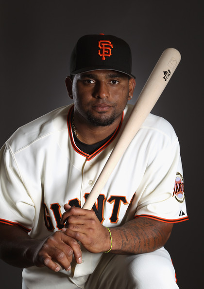 Pablo Sandoval Pablo Sandoval #48 of the San Francisco Giants poses for a portrait during media photo day at Scottsdale Stadium on February 23, 2011 in Scottsdale, Arizona.