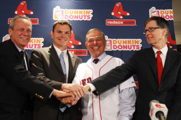 John Henry Boston Red Sox Introduce Bobby Valentine